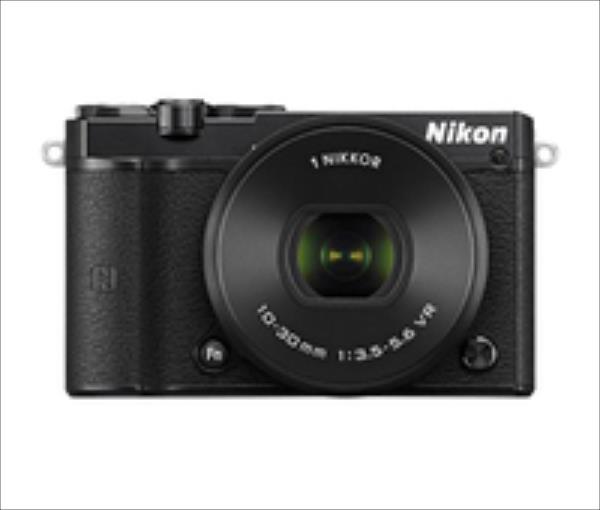 Nikon 1 J5 + 10-30mm PD zoom+ 30-110mm Black Digitālā kamera