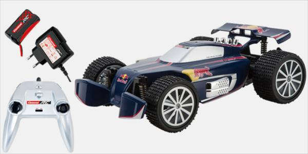 Carrera Buggy Red Bull NX1 (162088) Radiovadāmā rotaļlieta