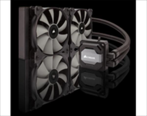 Corsair Hydro Series H110i Extreme CPU Cooler, 140 x 312 x 26mm ūdens dzesēšanas sistēmas piederumi