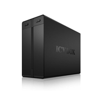 RaidSonic ICY BOX IB-3662U3 cietais disks