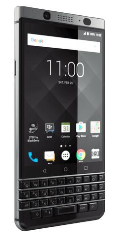 BlackBerry KEYone 4G 32GB 3GB RAM Melns, Sudrabs Mobilais Telefons