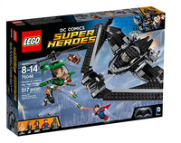 LEGO Heroes of Justice: Sky High V29  76046 LEGO konstruktors