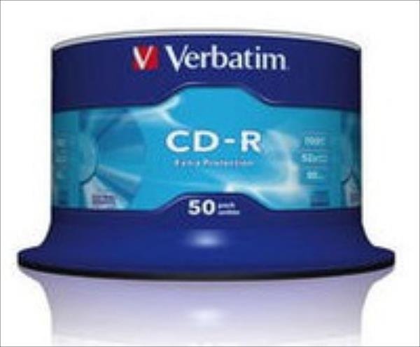 CD-R Verbatim [ 50pcs, 700MB, 52x, spindle ] matricas