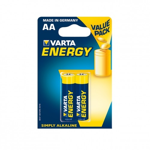VARTA alkaline batterie R6(AA) 2pcs. energy Baterija