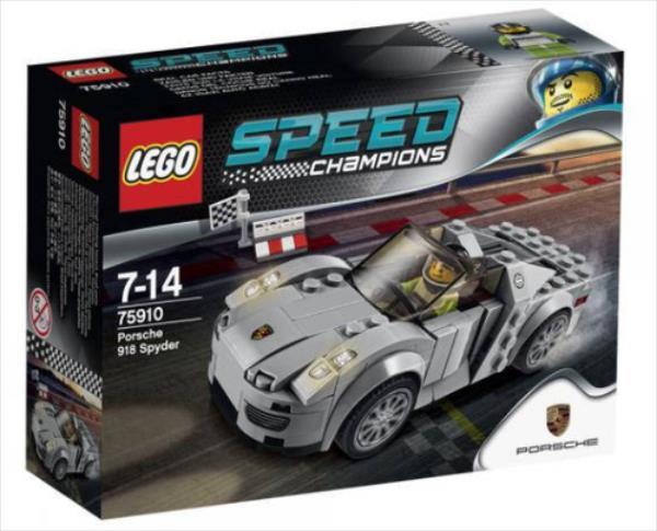LEGO Porsche 918 Spyder  75910 LEGO konstruktors