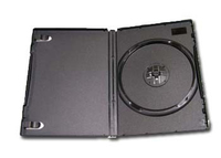 DVD/CD box black 14mm