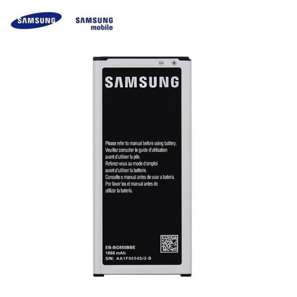 Samsung EB-BG850BBE Oriģināls Akumulators G850 Galaxy Alpha Li-Ion 1860mAh (OEM) akumulators, baterija mobilajam telefonam