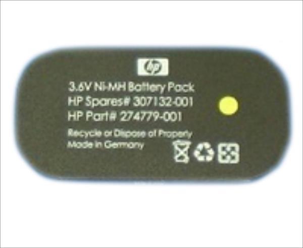 Hewlett-Packard NIMH, 3.6V, 500 mAh (307132-001) Baterija