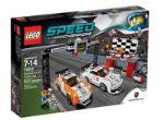 LEGO Speed Porshe 911GT finish line 75912 LEGO konstruktors
