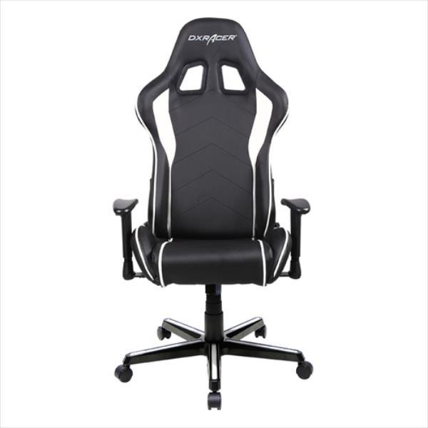 DXRacer Formula OH/FL08/NW Gaming Chair - black/white datorkrēsls, spēļukrēsls