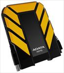 Adata DashDrive HD710 1TB USB3 Yellow, Waterproof & Shockproof Ārējais cietais disks