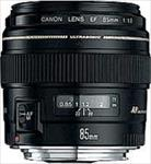 Canon Lense EF 85 mm 1.8 USM foto objektīvs