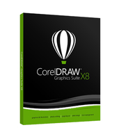 CorelDRAW Graphics Suite X8 License Media Pack programmatūra