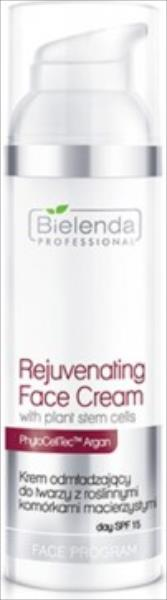Bielenda Professional Rejuvenating Face Cream With Stem Cells SPF15 50ml kosmētika ķermenim