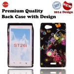 Telone Back Case Design Sony ST26i Xperia J maciņš, apvalks mobilajam telefonam
