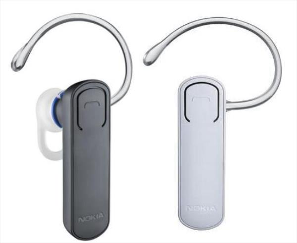 Nokia BH-108  melns - black brīvroku sistēma telefoniem