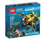 LEGO City Deep Sea Submarine 60092 LEGO konstruktors