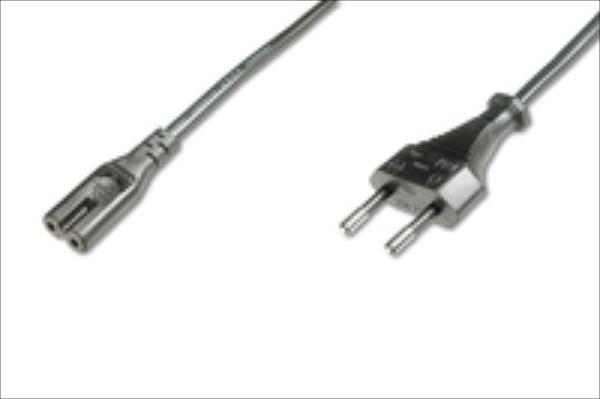 ASSMANN Power cord Euro(CEE 7/16)/IEC C7 M/F 1,8m Barošanas kabelis