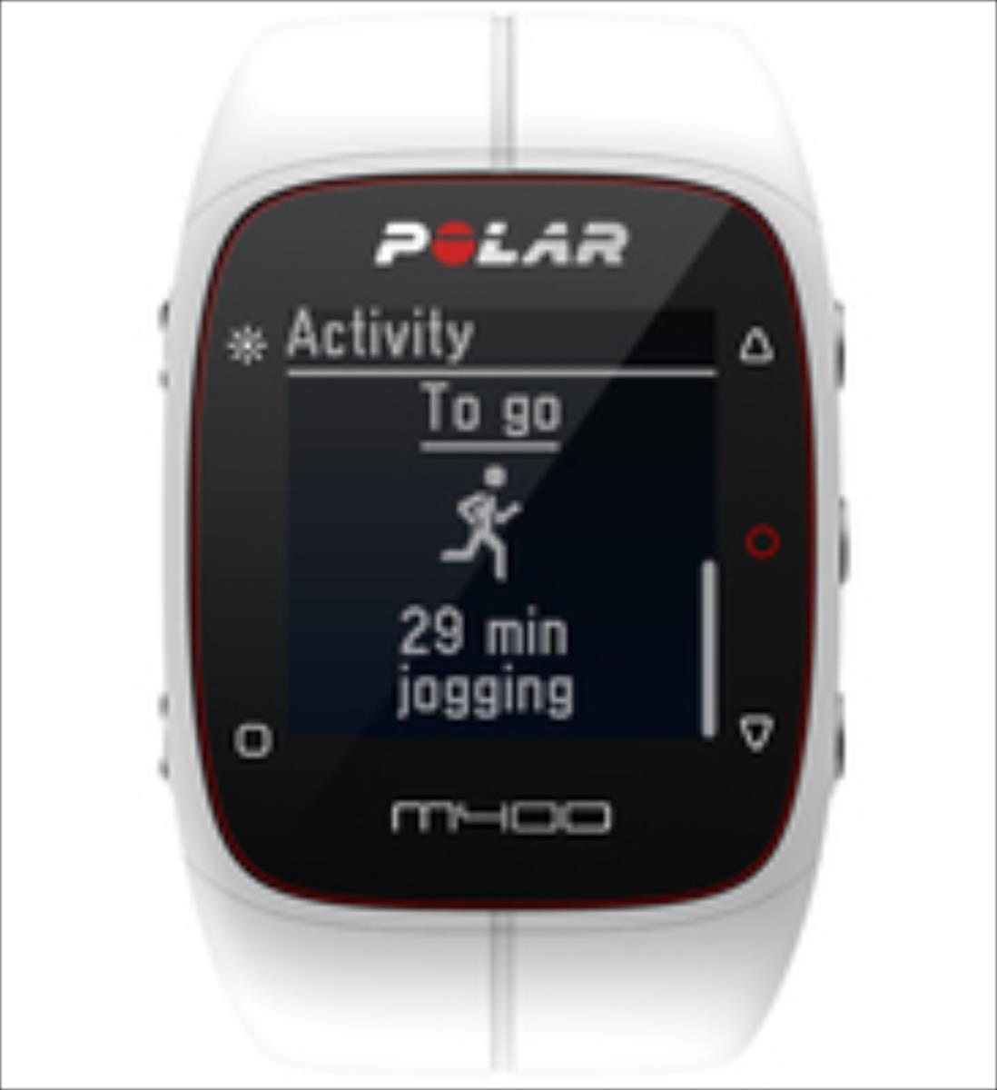 Polar M400 HR white sporta pulkstenis, pulsometrs