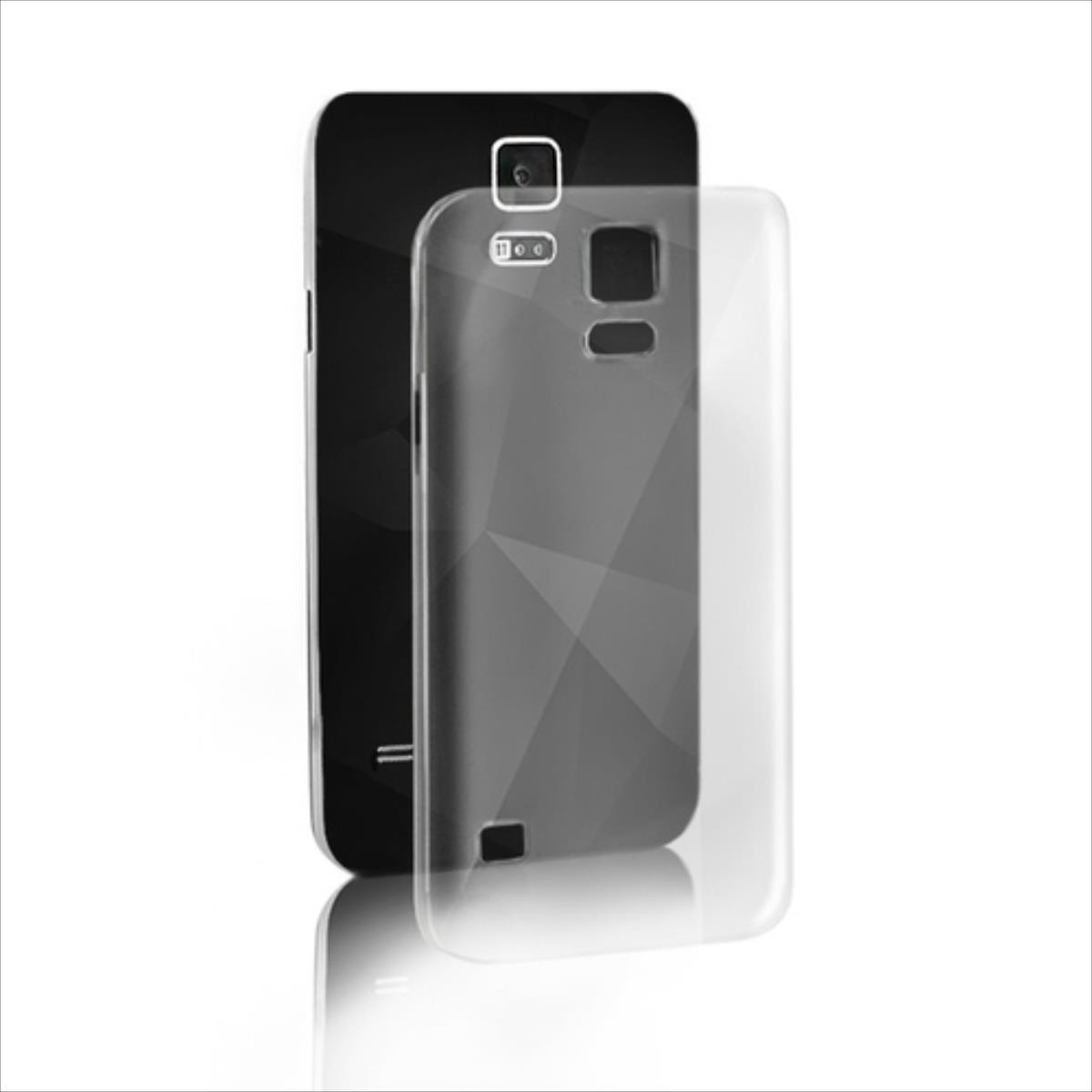 Qoltec Premium case for smartphone Samsung Galaxy Note 4 N910S | Silicon maciņš, apvalks