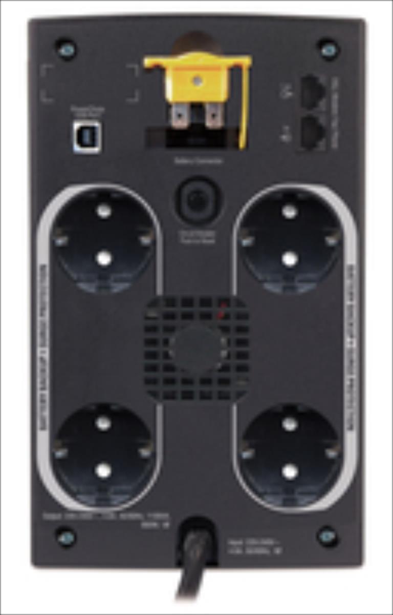 APC Back-UPS 1100VA, AVR,Schuko outlets nepārtrauktas barošanas avots UPS