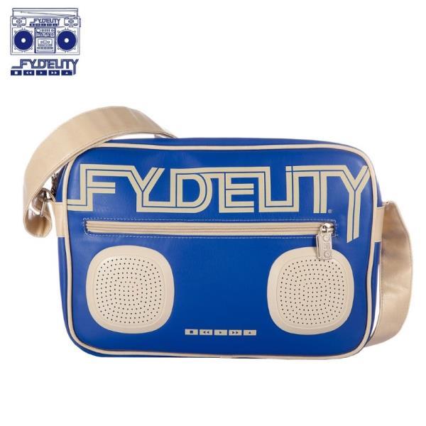 Fydelity Namesake G-Force Soma ar pleca siksnu un Skaļruņiem (35х20х10cm) Zila portatīvo datoru soma, apvalks