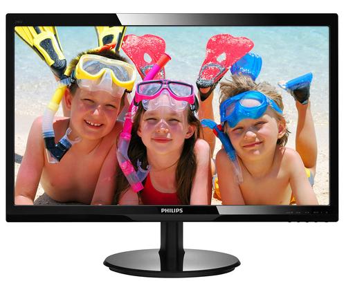 Philips 246V5LDSB/00, FullHD, HDMI, speakers, black monitors