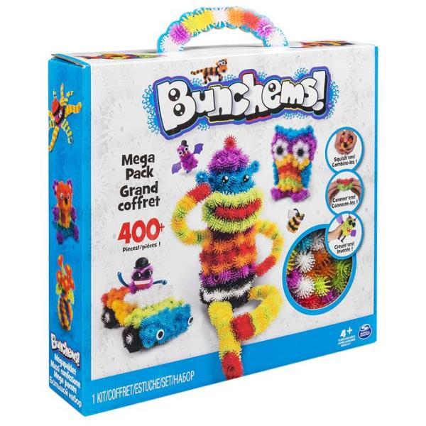 Spin Master Bunchems colorful velcro set - 5900022 bērnu rotaļlieta