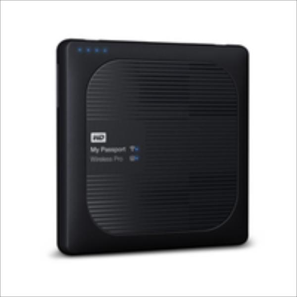 External HDD WD My Passport Wireless Pro 2.5'' 2TB WiFi Black Ārējais cietais disks