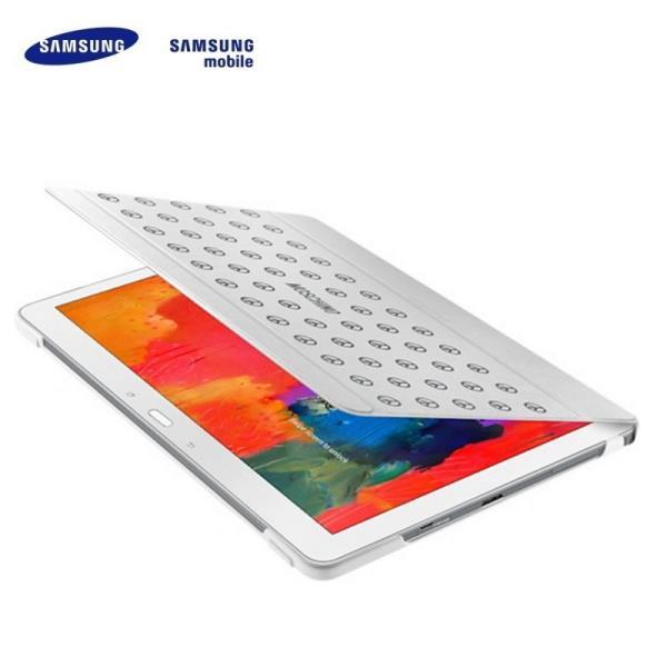 Samsung EF-EP900BZEG Moschino Samsung P900 Galaxy Note Pro 12.2 Ultra plāns maks ar statīvu Balts (EU Blister) planšetdatora soma