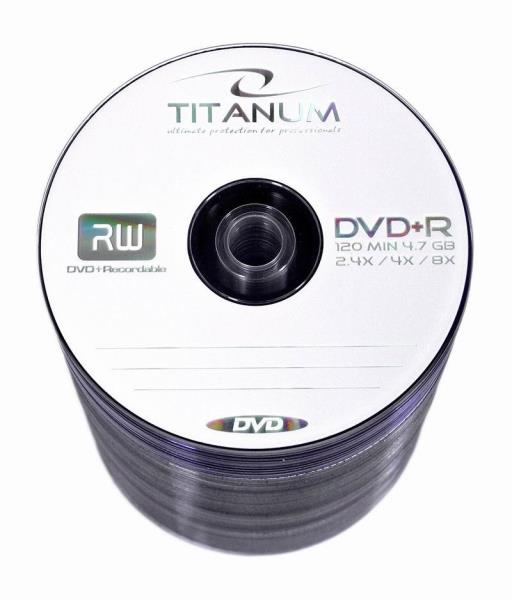 DVD+R TITANUM [ spindle 100 | 4.7GB | 8x ] matricas