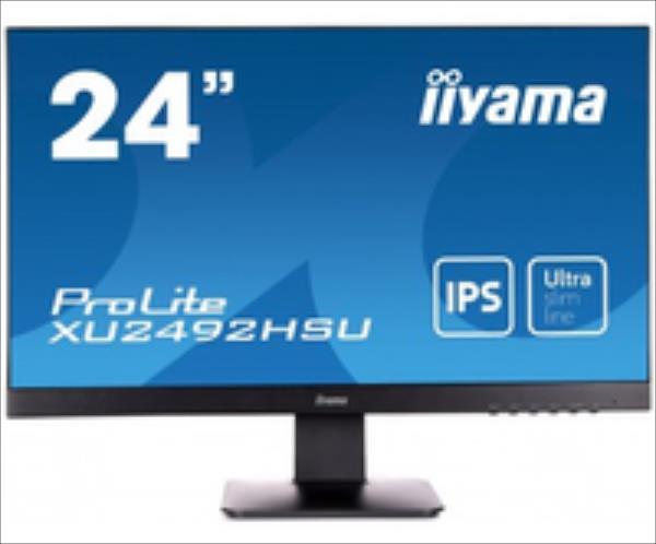 IIYAMA XU2492HSU-B1,  HDMI, DP, USB, IPS Speakers monitors