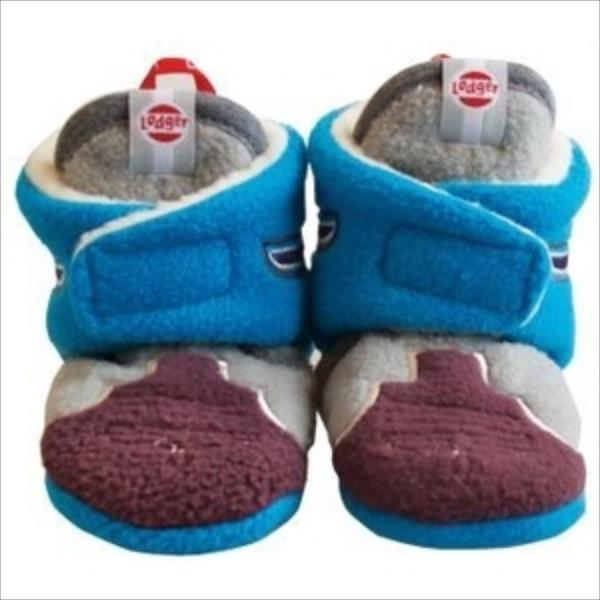 Lodger Slipper Fleece Native čībiņas, Blues, 12-18m, 12 cm SL 572_12-18