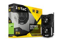 ZOTAC GeForce GTX 1050 Ti OC 128bit 4GB GDDR5 DVI-D, HDMI 2.0b, Display Port 1.4 video karte