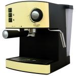 Adler AD 4404 c Espresso machine, 15 bar, 1,6 L water tank, 850W, Creamy Kafijas automāts