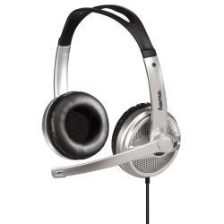 HAMA PC Headset HS-440 silver stereo austiņas