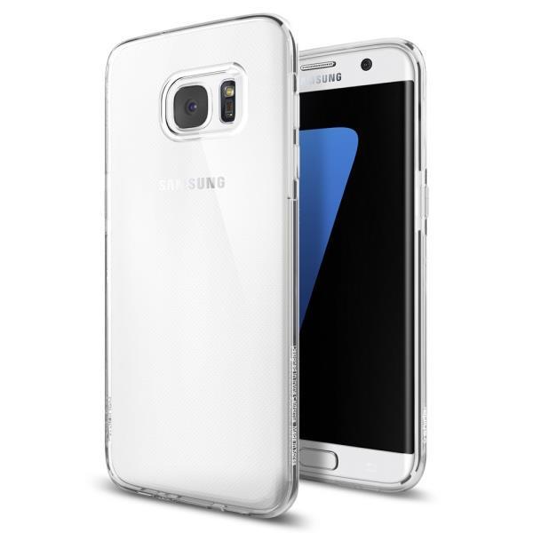 Spigen Liquid Clear      Samsung S7 edge maciņš, apvalks