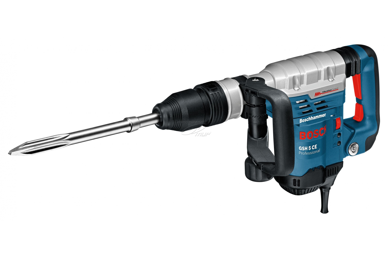 Bosch Domolition Hammer GSH 5 CE blue