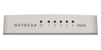 Netgear 5-Port Gigabit Desktop Unmanaged Switch (GS205) komutators