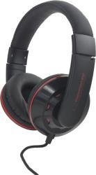 ESPERANZA Audio Stereo Headphones with volume control EH144K CORAL | 3m | Black austiņas