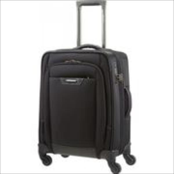 SAMSONITE  ProDLX4 55/22 cabin spinner, luggage, black portatīvo datoru soma, apvalks