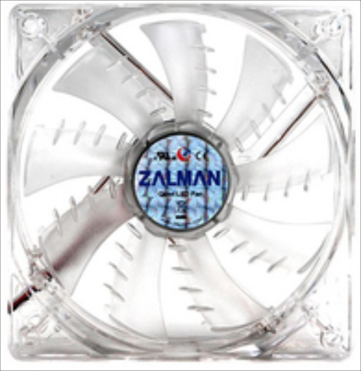 Zalman PC case Fan ZM-F3 Blue LED (SHARK FIN) 120mm dzesētājs, ventilators