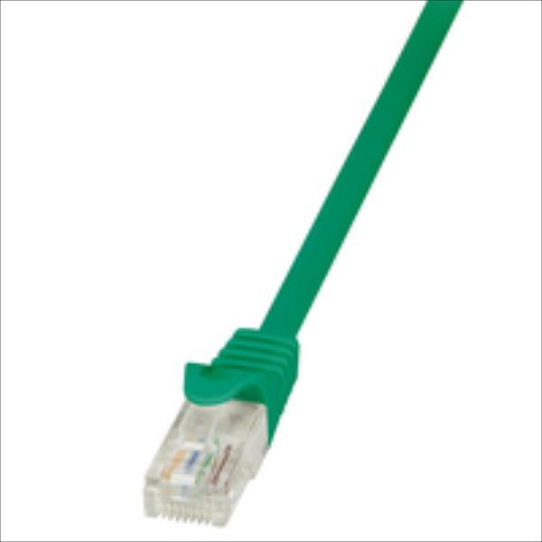 LOGILINK - Patchcord CAT 5e UTP 1m green tīkla kabelis
