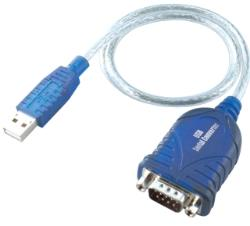i-Tec USB to RS232 (COM-DB9) cable kabelis, vads