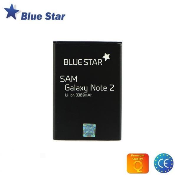 BlueStar Akumulators Samsung N7100 Galaxy Note 2 N7105 LTE Li-Ion 3300 mAh Analogs EB595675LU aksesuārs mobilajiem telefoniem