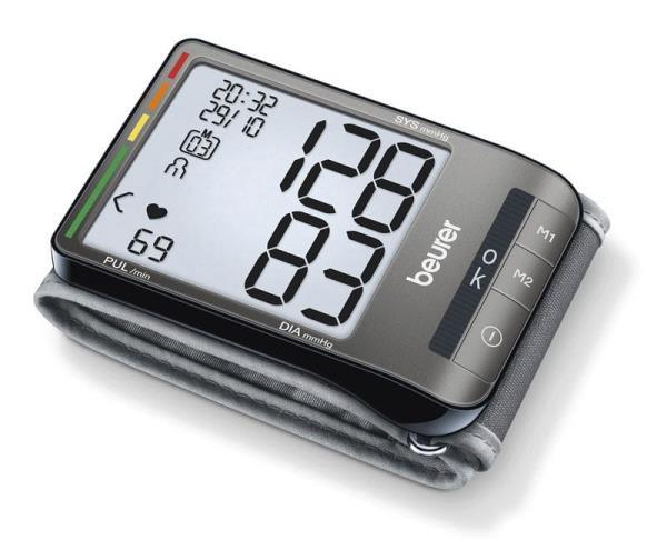 Beurer BC 80 asinsspiediena mērītājs