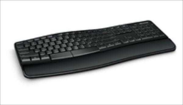 Microsoft Sculpt Comfort Desktop Sculpt Comfort Desktop, Black klaviatūra