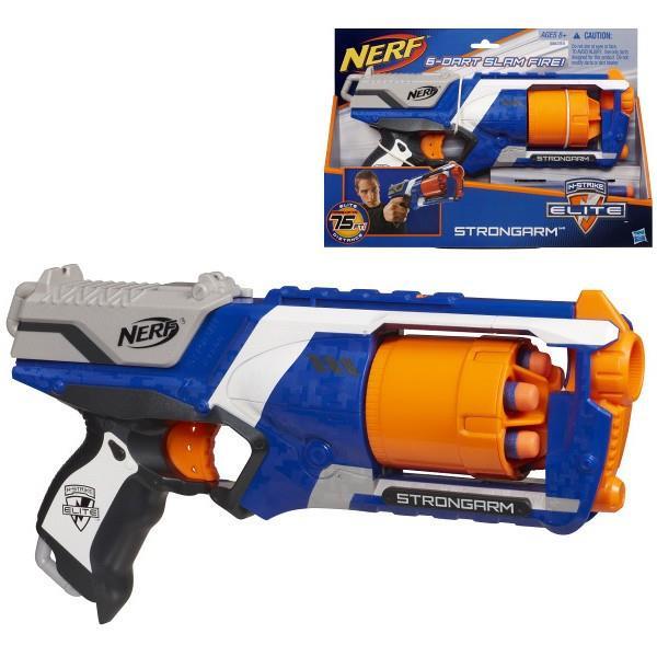 Hasbro Nerf Strongarm Elite Rotaļu ieroči