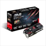 ASUS R9290-DC2OC-4GD5 / Radeon R9 290 / PCIE 3.0 / 4GB DDR5 video karte