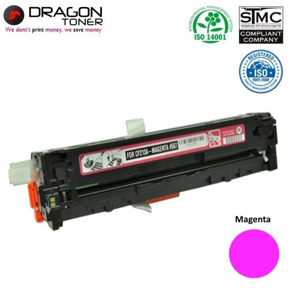 Dragon HP 131A CF213A Magenta / Canon CRG-731M Sarkana Lāzedrukas kasete M251nw 1.6K Pages HQ Premium Analog aksesuārs mobilajiem telefoniem
